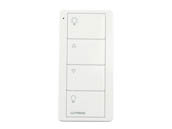 Lutron Electronics PJ2-4B-GWH-L01 PICO 4B ZONE LIGHT Lutron Pico 4-Button Living/Family Room Scene Wireless Remote