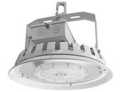 NaturaLED 7695 LED-FX16HBR75/90/850 Dimmable 75 Watt 5000K Round LED High Bay Fixture