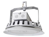 NaturaLED 7698 LED-FX16HBR162/90/840 Dimmable 162 Watt 4000K Round LED High Bay Fixture