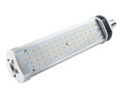 Light Efficient Design LED-8100-22K 20W 2200K T17 Ballast Bypass LED SOX Retrofit Bulb, Enclosed Rated