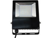 NaturaLED 7764 LED-FXFDL48/50K/BK 48 Watt, 200-250 Watt Equivalent, 5000K LED Flood Light Fixture