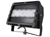 NaturaLED 7783 LED-FXFDL50/66/40K/BK Dimmable 50 Watt, 250-400 Watt Equivalent, 4000K LED Flood Light Fixture