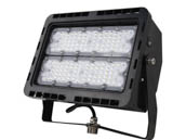 NaturaLED 7788 LED-FXFDL100/66/50K/BK Dimmable 100 Watt, 400-575 Watt Equivalent, 5000K LED Flood Light Fixture With Yoke Mount