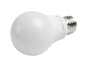 TCP L60A19N1527K Non-Dimmable 9 Watt 2700K A-19 LED Bulb, Enclosed Fixture Rated
