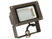 MaxLite 14098954 FLS20U50B/G2 Maxlite 250 Watt Quartz Halogen Equivalent, 20 Watt 5000K LED Flood Light Fixture