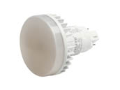MaxLite 1408687 12PLG24QVLED27 Maxlite Non-Dimmable 12W 4 Pin Vertical 2700K G24q LED Bulb, Ballast Compatible