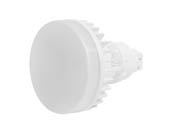 MaxLite 1408989 12PLG24QVLED30 Maxlite Non-Dimmable 12W 4 Pin Vertical 3000K G24q LED Bulb, Ballast Compatible