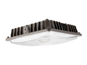 Value Brand MCP0560W27V50KD 60 Watt, 250 Watt MH Equivalent, 5000K LED Low-Profile Canopy Fixture