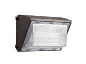 Value Brand MWP0865W27V50KDP0 65 Watt, 120-277V, 250 Watt Equivalent 5000K Forward Throw LED Wallpack Fixture with Photocell