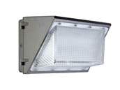 Value Brand WP135W27V50KD 135 Watt, 400 Watt Equivalent 5000K Forward Throw LED Wallpack Fixture
