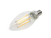 MaxLite 102276 F4B10D927/JA8 Maxlite Dimmable 4W 2700K Decorative Filament LED Bulb, JA8 Compliant