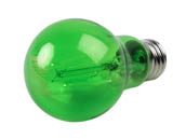Philips Lighting 538249 4A19/LED/GREEN/G/E26/ND Philips Non-Dimmable 4 Watt Green A19 Filament LED Party Bulb, Outdoor Rated