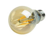 Philips Lighting 470393 4.5A19/VIN/822/E26/CL/GL/DIM Philips Dimmable 4.5W 2200K Vintage A19 Filament LED Bulb, Outdoor Rated