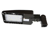 Energetic Lighting 75041 E3SB100L3-750 Energetic 100 Watt, 250 Watt Equivalent, Dimmable 5000K Slim LED Area Light Fixture With Slip Fitter and Photocell, Type III