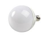 MaxLite 103008 5G16.5DLED27/G2 Maxlite Dimmable 5W 2700K G-16.5 Frosted Globe LED Bulb, E12 Base, Enclosed Rated