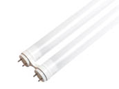 "ELB Electronics LEDT8-17-835-B-FHF U1 Dimmable 17 Watt, 1.6"" Gap 3500K T8 U-Bend LED Bulb, Ballast Compatible"