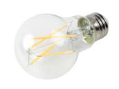 Bulbrite 776872 LED5A19/27K/FIL/3 Dimmable 5W 2700K A19 Filament LED Bulb, Enclosed and Wet Rated