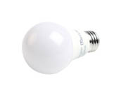 MaxLite 102603 E6A19NDV50 Maxlite Non-Dimmable 6W 5000K A19 LED Bulb, Enclosed Fixture Rated