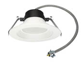 "MaxLite 14099877 RCF613CSW 13 Watt 6"" Color Selectable (3000K/3500K/4000K) LED Recessed Downlight"