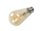 Halco Lighting 85046 ST19AMB7ANT/822/LED2 Halco Dimmable 7W 2200K Vintage ST19 Filament LED Bulb