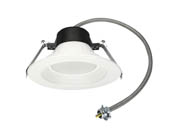 "MaxLite 14099876 RCF409CSW 9 Watt 4"" Color Selectable (3000K/3500K/4000K) LED Recessed Downlight"
