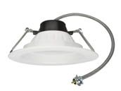 "MaxLite 14099881 RCF822CSW 22 Watt 8"" Color Selectable (3000K/3500K/4000K) LED Recessed Downlight"