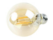 Philips Lighting 537589 4.5G25/VIN/820/E26/CL/GL/DIM 4/1BC T20 Philips Dimmable 4.5W 2000K Vintage G25 Filament LED Bulb