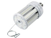 Satco Products, Inc. S39396 100W/LED/HID/5000K/100-277V/EX39 Satco 100 Watt 5000K LED Post Top Retrofit Lamp, Ballast Bypass