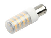 EmeryAllen EA-BA15D-5.0W-121-309F-D Dimmable 5W 120V 3000K T3 LED Bulb, BA15d Base, Enclosed Fixture Rated, JA8 Compliant
