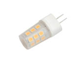 EmeryAllen EA-G4-2.5W-001-309F Dimmable 2.5W 12V 3000K JC LED Bulb, G4 Base, Enclosed Fixture Rated