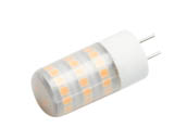 EmeryAllen EA-GY6.35-4.0W-001-279F Dimmable 4W 12V 2700K JC LED Bulb, GY6.35 Base, Enclosed Rated