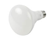 90+ Lighting SE-350.024 Dimmable 9 Watt 3000K 93 CRI BR30 LED Bulb, JA8 Compliant & Enclosed Rated
