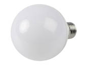 90+ Lighting SE-350.039 Dimmable 7W 2700K 92 CRI G25 Frosted Globe LED Bulb, JA8 Compliant