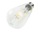 90+ Lighting SE-RCL06.1107-A Dimmable 7W 2700K ST19 Filament LED Bulb