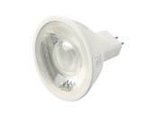 90+ Lighting SE-350.002 Dimmable 7W 2700K 24 Degree 92 CRI MR16 LED Bulb, GU5.3 Base, JA8 Compliant, Enclosed Rated
