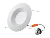 "90+ Lighting SE-350.064 Dimmable 15 Watt 3000K 93 CRI 5""/6"" LED Recessed Downlight Retrofit, JA8 Compliant"