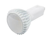 Green Creative 98256 16.5PLV/830/BYP 16.5W 2 or 4 Pin Vertical 3000K G24 Base LED Bulb, Ballast Bypass