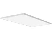 Lithonia Lighting 250CSL CPANL 2X4 40/50/60LM 35K M2 Lithonia Contractor Select CPANL Dimmable 2x4 Adjustable Lumen LED Flat Panel, 3500K