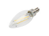 Cree Lighting B11-60W-P1-50K-E12-U1 Cree Pro Series Dimmable 5.3W 5000K Decorative Filament LED Bulb, Title 20 Compliant