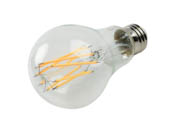 Bulbrite 776616 LED11A21/30K/FIL/3 Dimmable 11W 3000K A21 Filament LED Bulb, Enclosed and Wet Rated