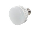 MaxLite 76907 10CPUALED27 Non-Dimmable 10W 2700K 120-277V LED Puck Bulb, Enclosed Fixture and Wet Rated