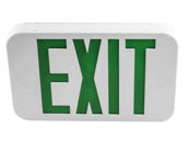 MaxLite 14101487 EX-GW Maxlite LED Exit Sign with Battery Backup, Green Letters