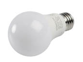MaxLite 14099398-7 E9A19DLED40/G7 Maxlite Dimmable 9 Watt 4000K A19 LED Bulb, Enclosed Fixture Rated