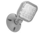 Lithonia Lighting 263X5A ERE GY SGL WP M12 Lithonia ERE Series Outdoor, Wet Location Single Remote Head, Gray