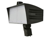 MaxLite 14100160 FMX200UW-50BSKRPC Maxlite 750 Watt HID Equivalent, 200 Watt 5000K LED Flood Light Fixture With Slipfitter Mount & Photocell