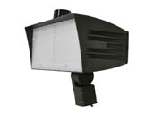 MaxLite 14100164 FMX310UW-50BSKRPC Maxlite 1000 Watt HID Equivalent, 310 Watt 5000K LED Flood Light Fixture With Slipfitter Mount & Photocell