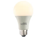 Bulbrite 190120 SL8WA19/W/FR/1P Solana WiFi White Color Adjusted A19 LED Bulb, No Hub Needed, Title 24 Compliant