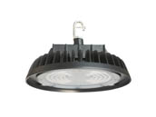 Commercial LED CLU4-150P5PDBK 400 Watt Equivalent, 150 Watt Dimmable 5000K Round UFO LED High Bay Fixture