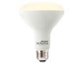 Bulbrite 196110 SL8WBR30/W/FR/1P Solana WiFi White Color Adjusted BR30 LED Bulb, No Hub Needed
