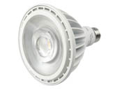 MaxLite 102629 38P38WND30FL Maxlite Dimmable (120V Only) 38W High Output 120V-277V 40 Degree 3000K PAR38 LED Bulb, Wet Rated